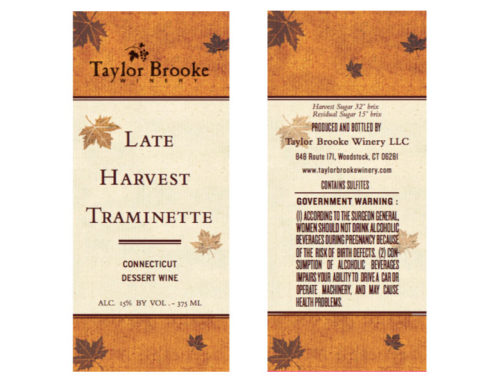 Late Harvest Traminette